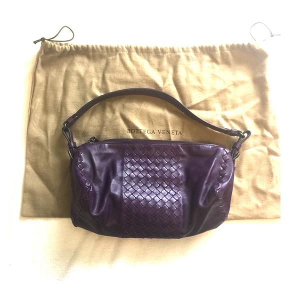 7d9d8a9e7e6c Bottega Veneta Handbags - Used Bottega Veneta Violet Purse